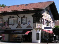 Interesting unusual buildings :: Germany. Garmisch-Partenkirchen