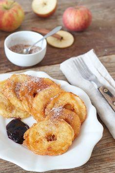 Gebacken Apfelspalten Rezept - Gebackene Apfelspalten sind schnell gemacht und wecken Kindheitserinnerungen. // baked apple slices recipe // Sweets & Lifestyle®️️️  #apfelspalten #apfelringe #gebackeneapfelspalten #gebackeneapfelringe #rezept #bakedappleslices #recipe #sweetsandlifestyle