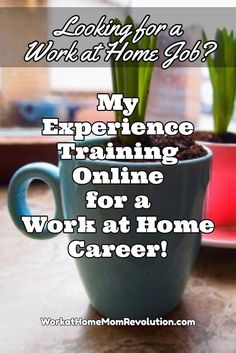 Are you seeking a work at home career? Read about my experience training online for a work from home career! Training from home is convenient, flexible, and affordable.