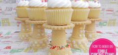✽ Increíbles soportes para cupcakes comestibles