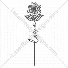 Product laser cut word flower templates online store free vector downloads everyday. @ shop-msl.com
