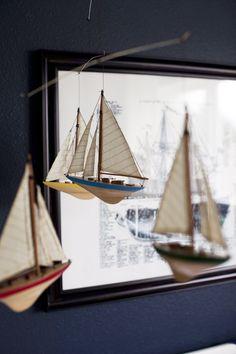 Nautical Themed Nursery - On to Baby