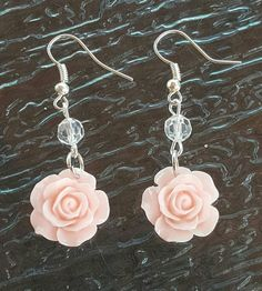 Check out this item in my Etsy shop https://www.etsy.com/listing/462629321/rose-resin-handmade-fish-hook-dangle