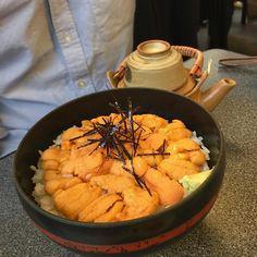 小樽でウニ丼 #seaurchin #seafood #japanesefood #小樽 by jeremyfisher0927