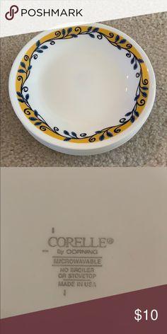 Corning Ware Corelle BACK ORCHID 8 Bread /& Butter Snack Dessert Plates USA