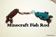 Minecraft Fishing Rod Charm by Elegant Fashion 360   ♥Subscribe YouTube Channel:  https://www.youtube.com/user/ElegantFashion360  ♥ Sing up for Newsletter: http://elegantfashion360.com