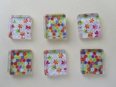 Fridge Magnets  Bright Colors Mix Refrigerator by DLRjewelry, $10.00