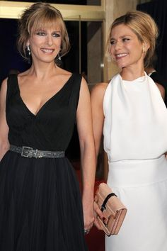 Marina Foïs and Karin Viard