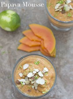 What do you do with papaya? Make this quick and easy vegan papaya mousse recipe. Made with only 5 ingredients and it is very easy to make.