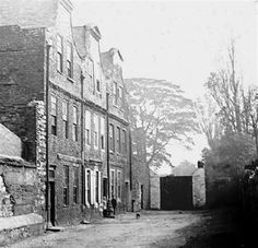 Tenements, Sweeney's Lane, Ardee Street, c.1895. Old Images, Old Pictures, Old Photos, Vintage Photos, Dublin Street, Dublin City, London Street, Ivy Rose, Photo Engraving