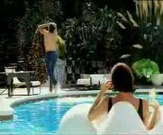 """Levi's 501 """"Swimmer"""" tv commercial (1992)."""