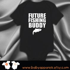 Future Fishing Buddy Baby Clothes Bodysuit Baby by BabyApparels