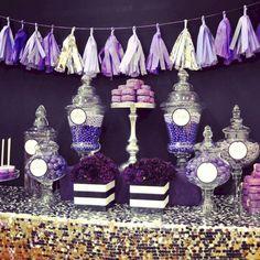 25 best purple candy buffet images dessert table dessert tables rh pinterest com