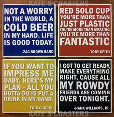 Country Music-- want these!!!!!