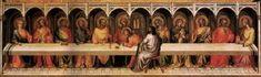 Lorenzo Monaco - Ultima Cena - 1394-1395 - Staatliche Museen, Berlino