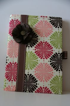 Fabric covered composition journal by ACraftyCove on Etsy, $7.00
