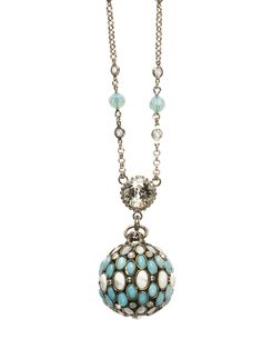 Greatly Global Pendant Necklace in Aegean Sea by Sorrelli ... I want it!