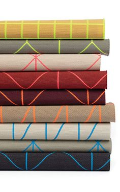 Bright Grid, Bright Angle, and Bright Cube contract textiles designed by Scholten & Baijings for Kvadrat/Maharam. Textile Fabrics, Textile Patterns, Textile Design, Print Patterns, Material Board, Cool Fabric, Surface Pattern Design, Color Inspiration, Cool Designs