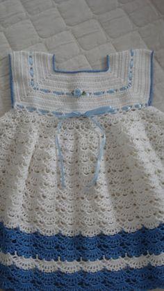 Crochet Baby Beanie, Crochet Toddler, Crochet Girls, Crochet Baby Clothes, Crochet For Kids, Baby Knitting, Crochet Children, Moda Crochet, Knit Crochet