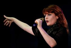Amazingly awesome, so cool, Florence and the Machine. I love her style.