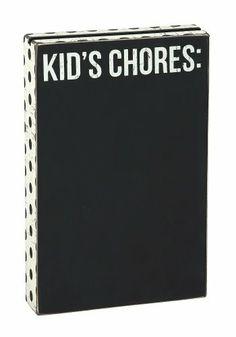 Kids Chores Chalkboard Sign Primitives By Kathy,http://www.amazon.com/dp/B00J38WJ72/ref=cm_sw_r_pi_dp_BDAktb02Q6Q7NG2H