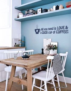 https://www.etsy.com/listing/253923300 All You Need is Love & a Good Cup of Coffee Who can disagree with that? This removable vinyl wall decal is custom-designed and ready to brighten your kitchen or dining area. All artwork and designs © Copyright Quality Signs and Design. All rights reserved. https://www.etsy.com/listing/253923300 #coffee #coffeetime #coffeelover #kitchen #allyouneedisloveandagoodcupofcoffee #allyouneedislove #vinylwalldecals #vinylwallquotes #qualitysignsetsy