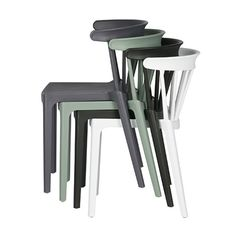 Take a seat in this cool bar chair from LEF collections. This chair is called Bliss and is made of plastic and is jade green in color. This nice chair is availa