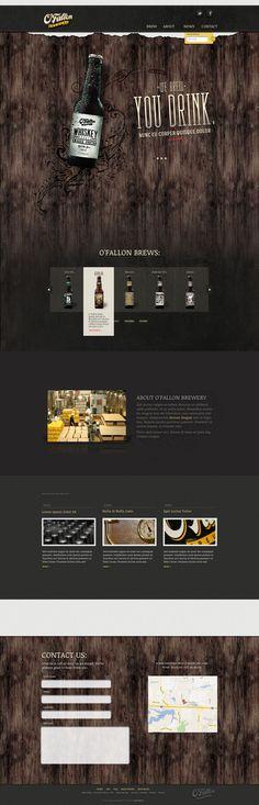 Cool Web Design on the Internet, O'Fallen. #webdesign #webdevelopment #website @ http://www.pinterest.com/alfredchong/web-design/