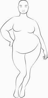 nice plus size fashion sketches - Buscar con ... Arte que me encanta Check more at http://pinfashion.top/pin/50414/
