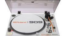 DJ-Plattenspieler und Battle Mixer im 909-Design