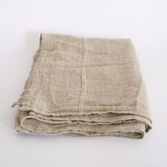 french linen table cloth - 122 x 27""