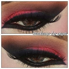 90 best red eyeshadow images in 2019 beauty makeup gorgeous rh pinterest com