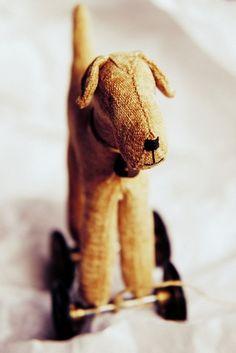 vintage pull toy...