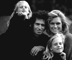 """❝ My mom told Keith that she was worried about her baby, and he told her not to worry because he'd take care of me. So, if I ever got really thin running around with him, he would take me off, put some weight on me. Keith promised my mom he would take care of me, and he did.❞ — Patti Hansen  """"She is the most beautiful specimen in the WORLD… It certainly helps but it's her mind, her joy of life, and she thinks this battered junkie is the guy she loves."""" - Keith Richards"""