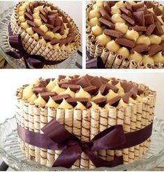 Bisküviden Pasta – Her yapmada garanti sonuç muhteşem sunu Sweet Recipes, Cake Recipes, Dessert Recipes, Food Cakes, Candy Cakes, Cupcake Cakes, Birthday Cake Fudge, Bolos Cake Boss, Fashion Cakes