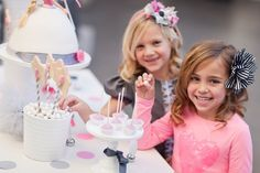 Modern Princess Party for Parenting Magazine!