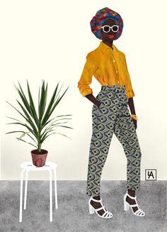 Afrocolour on Behance