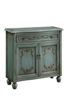 Dearington Teal Drawer Cabinet