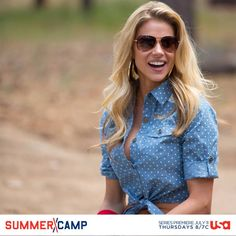 How would you like having Brooke as your camp counselor?
