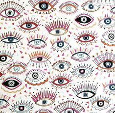 visit for more Peppy Pattern & Design The post Peppy Pattern & Design appeared first on hintergrundbilder. Retro Wallpaper, Wallpaper Backgrounds, Trendy Wallpaper, Eyes Wallpaper, Spring Wallpaper, Illustrator, Design Graphique, Surface Pattern, Eye Pattern