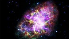 Krabí mlhovina je vzdálená přes 6 500 světelných let od Země. Jde o pozůstatek supernovy SN1054, jejíž výbuch v roce 1054 pozorovali čínští a arabští astronomové. Mlhovina se neustále zvětšuje, v jejím centru se nachází neutronová hvězda Krabí pulsar.