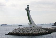 Lighthouses of South Korea: Changwon, Gadeokdo West Breakwater
