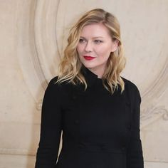 @KirstenDunst radiated in the front row at @Dior's haute #couture spring 2017 show in Paris. The secret weapon behind this French girl look? Makeup pro @SabrinaBMakeup and a bold red lip courtesy of Dior Rouge Couture Color 634 in Strong Matte. Watch the actress get ready for the show on Snapchat (: instyle) now. : @gettyimages  via INSTYLE MAGAZINE OFFICIAL INSTAGRAM - Fashion Campaigns  Haute Couture  Advertising  Editorial Photography  Magazine Cover Designs  Supermodels  Runway Models