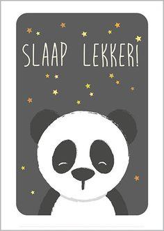 Ansichtkaart Slaap lekker Panda - Studio Circus