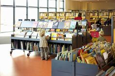 BCI Library Design - good browsing for children.