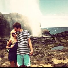 Hailey and Brad Devine :) I want my relationship with my missionary to be just like theirs.