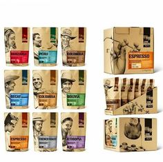 #Repost @pakko.me Cofee packaging. Level Ground Trading #packagingdesign #packaging #branding #packagingideas #coffee #coffeepackaging