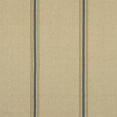 Stamford Stripe - Prairie Blue - Stripes - Fabric - Products - Ralph Lauren Home - RalphLaurenHome.com