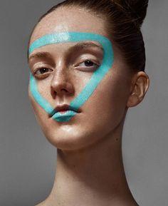 moderne halloween fete maquillage facile super chic