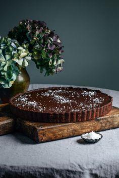 From The Kitchen: Dark Chocolate Tart with Sea Salt
